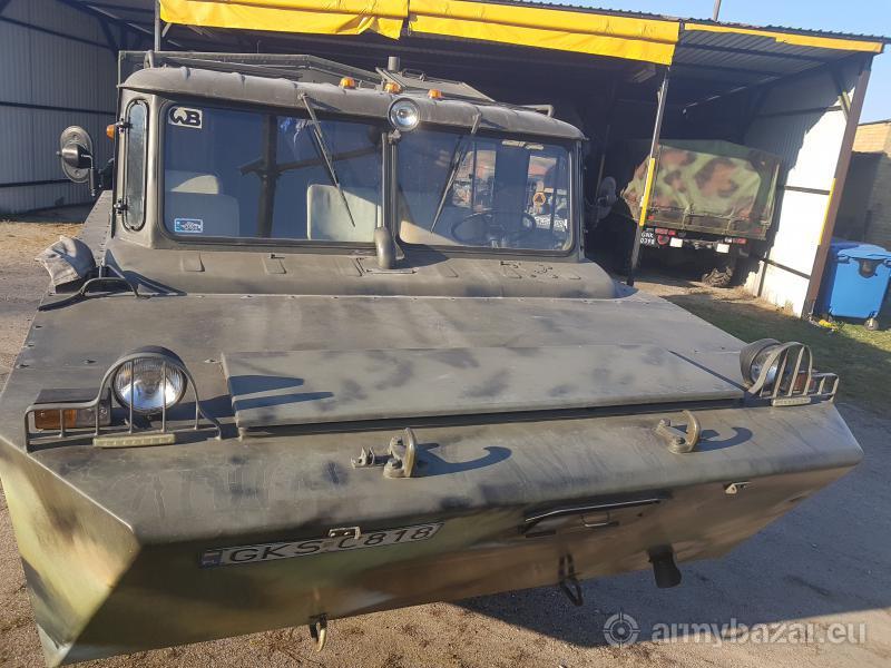 Amfibia na bazie GAZ 66