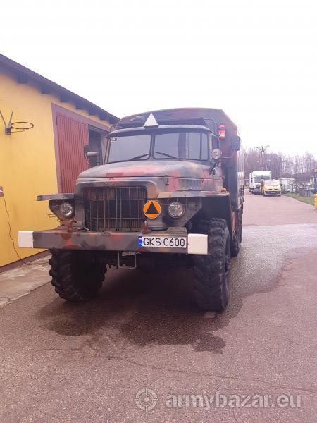 URAL 375A Military Camper