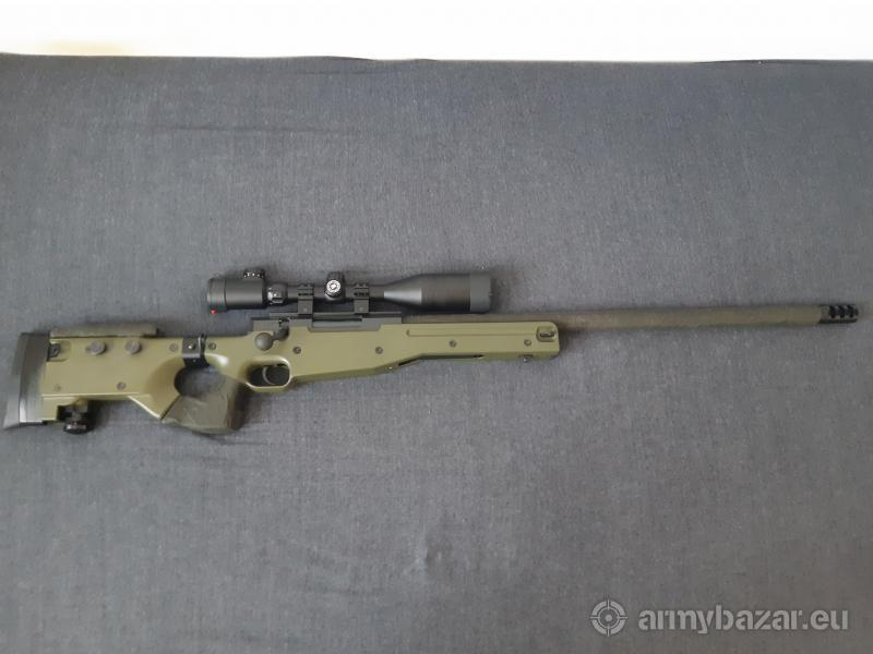WELL MB08D Plne upgradnutá + Pištol KJW PT92