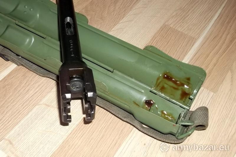 Znehodnotená hlaveň a púzdro hlavne M53/MG42