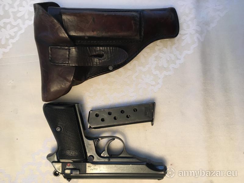 Pistolet Walther PP kal. 7,65mm 1942