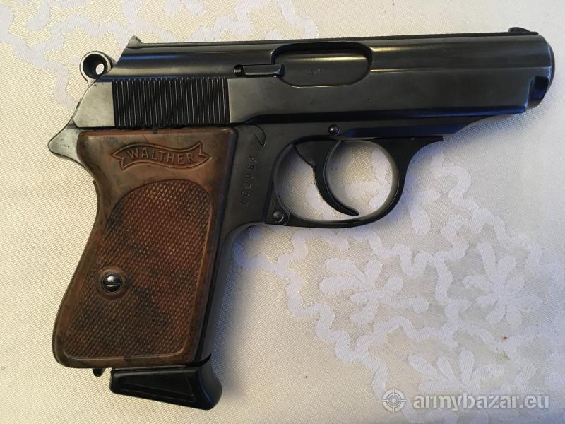 Pistolet Walther PPK kal. 7,65 mm z roku 1935