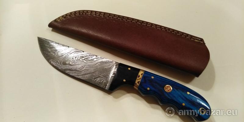Nôž z damaškovej ocele k13.