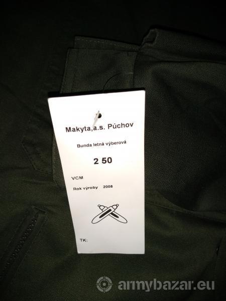 Vojenská výberová bunda