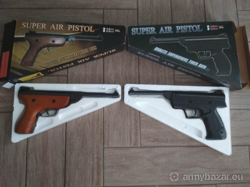 Vzduchová lámacia pištoľ Kandar cal. 4,5mm aj 5,5m
