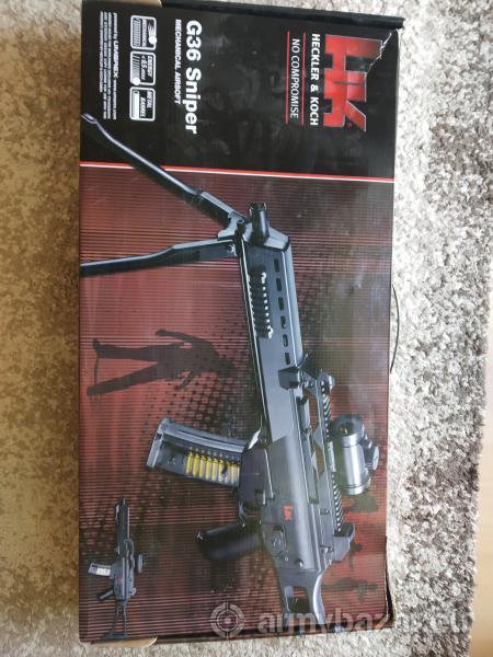 Heckler & Koch G36 Sniper Airsoft