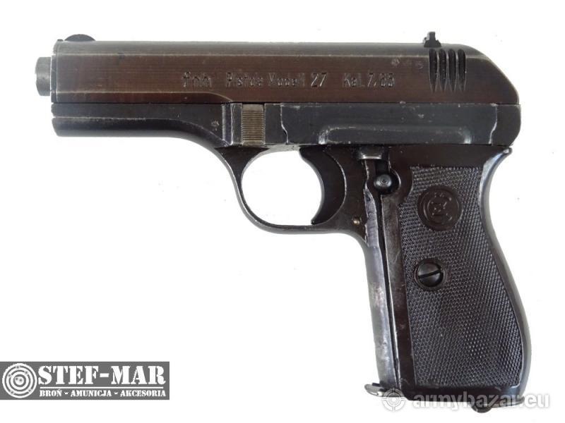CZ 27 fnh, kal. 7.65x17mmSR Br (.32 ACP) [C1271]