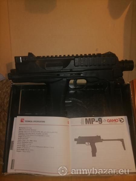 Mp-9, Special combat