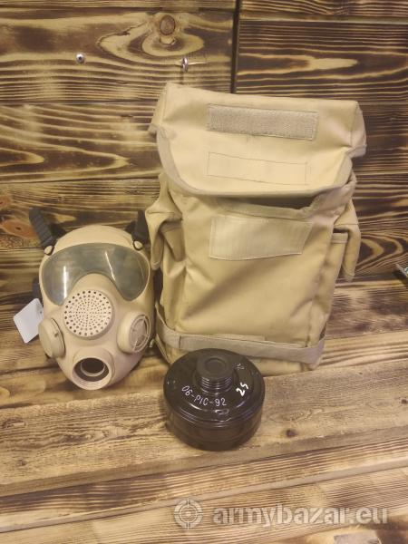 Plynová maska MP-5, khaki, použitá
