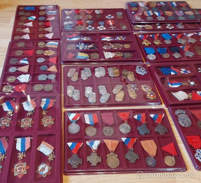 Kúpim staré vyznamenania, odznaky, medaily