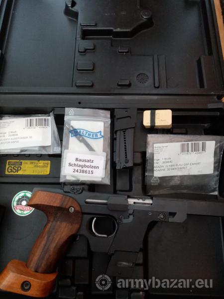 Predám pištoľ Športový špeciál Walter GSP 32.
